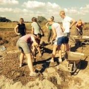 Digging begins at YAgri Tech Dondo (Mozambique)