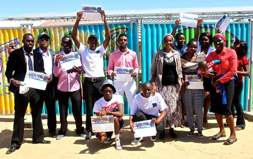 Level 2 Solar Technology Graduation Photo Credit: Young Africa Namibia