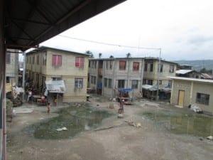 Houses in Badjao Tribe