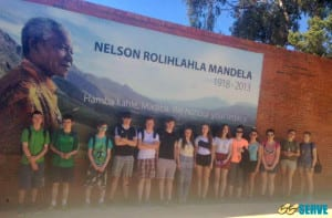 Ready to learn at the Apartheid Museum!
