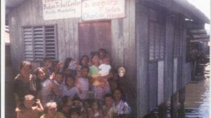 The first school in the Badjao
