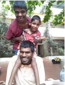 Boys from Morning Star, India
