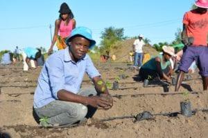 Students at Agri-Tech