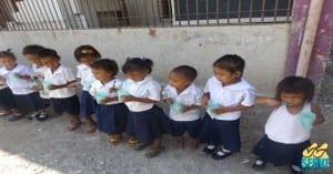 Kindergarten Badjao students