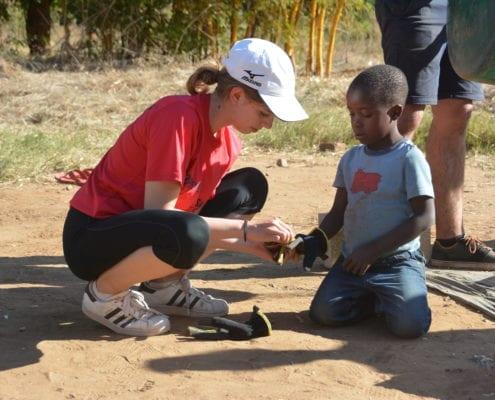 Irish volunteers in Africa