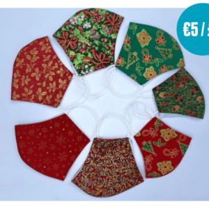 Handmade Christmas facemasks by our partners The Good Shepherd Sisters in Thailand
