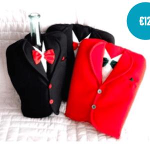 Handmade Tuxedo bottle cover