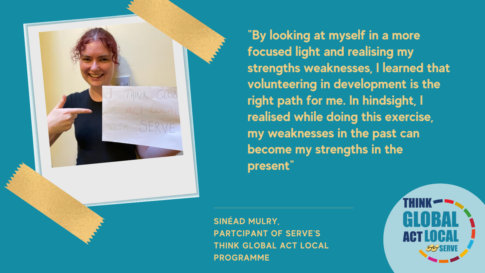 Think Global Act Local Programme Reflection