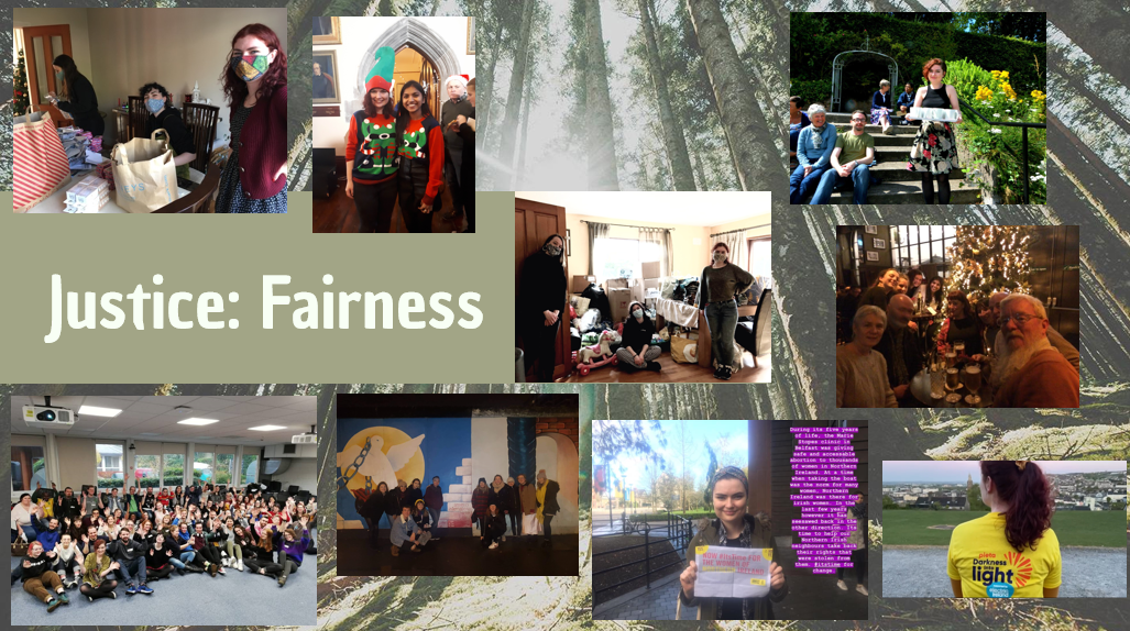 Sinead's Core Values collage