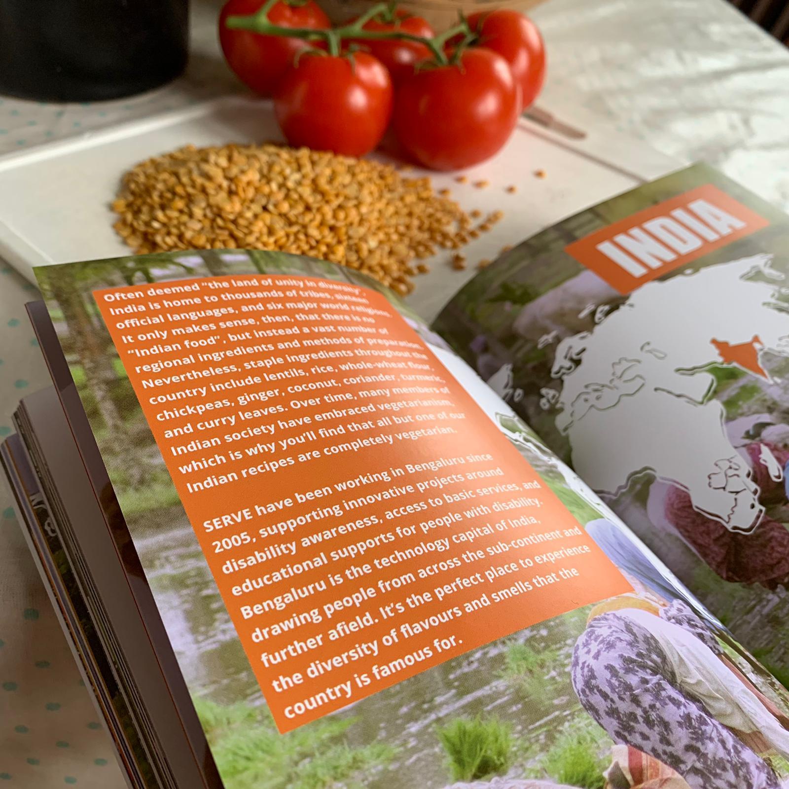 SERVE'd UP Cook Book Dal 2