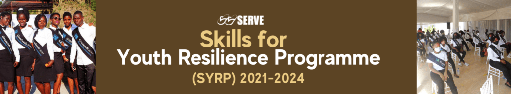 Skills for Youth Resilience Programme SYRP Young Africa Banner