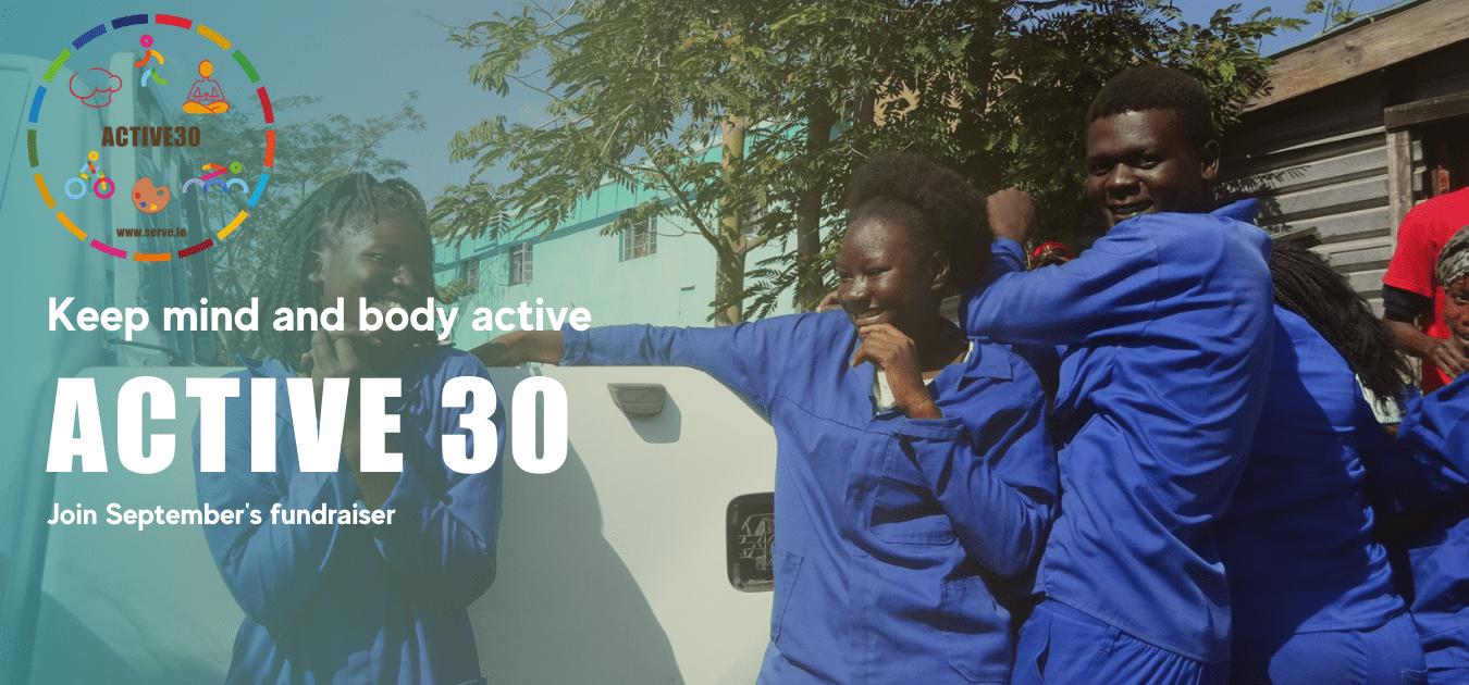 SERVE Active 30 Day Challenge fundraiser