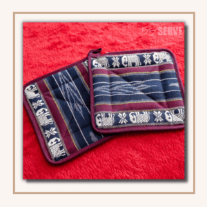 SERVE handmade woven potholders, made in Thailand, sustainable development goals, SDG 12: Sustainable Consumption And Production