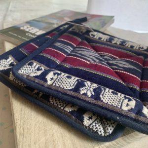 handmade woven pot holders