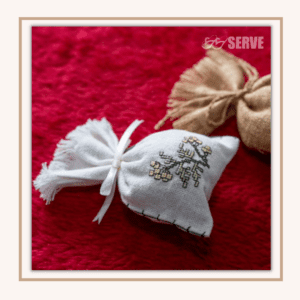 SERVE, handmade woven scented sachet pouch, made in Thailand, sustainable development goals, SDG 12: Sustainable Consumption And Production